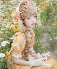 「Snow Flower」トップス ※ジャンパースカートと合わせ買いの方のみ※【8/16まで】