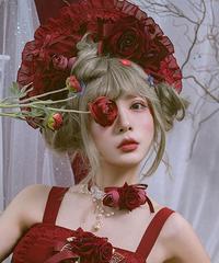 「Rosey Lady」ボンネット(ワインのみ)【3/30まで】