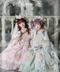 「妖精王国」ドレスセット(ドレス&花冠&お花コサージュ)【3/1まで】