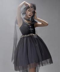 【現品販売】「Gray Swan」ジャンパースカート