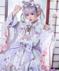 「紫藤の猫~春空幻夢」ブラウス【9/18まで】