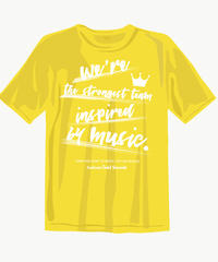 【現品限り!!早い者勝ち!!】Gold Sounds 救済計画Tシャツ(やや薄手5.0oz) new ver.イエロー