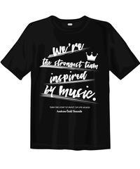 【現品限り!!早い者勝ち!!】Gold Sounds 救済計画Tシャツ(やや薄手5.0oz)  new ver.黒