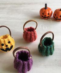 かぼちゃのニットバッグ(シンプル)