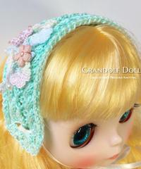 小花のヘッドドレス ネオブライス対応