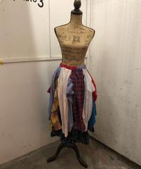 グランジデニム&袖リメイクスカート af698t66