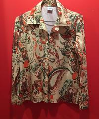 【USED 古着】Sears総柄プリント長袖ポリシャツ 1482901252-19