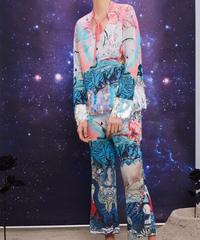 Mukzin Designer Brand Sequin Splicing Goddess Suit - L N664199910