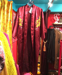 【USED 古着】チャイナ刺繍 ガウン コート used201211-1