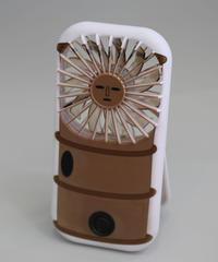 円筒ハニワパーソナル扇風機