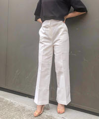 CENTER PRESS LINEN PANTS