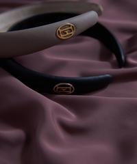 Leather Emblem Headband