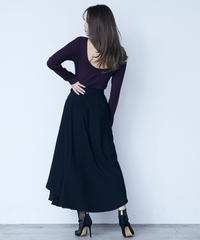 3way design skirt<BLACK>