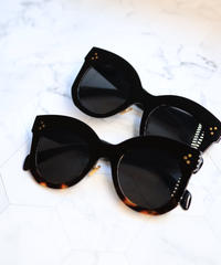【POPUP限定アイテム】thick frame sunglasses