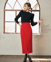 Side tuck pencil Skirt