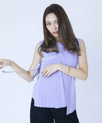 Twinkling Pleats Knit TOP