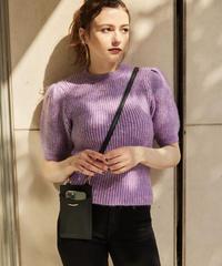 Puff Shoulder Knit Top