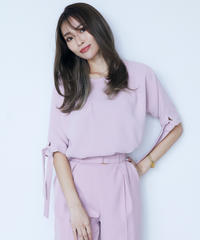 Bind sleeve TOP<PINK>