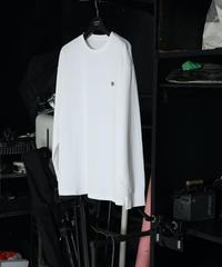 【UNISEX】Koruku 刺繍ロンTEE / WHITE