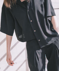 Asymmetry light shirts