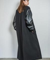 Faux leather sleeve L/BZ