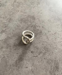 Complex Silver ring