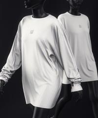 【unisex】 Front LOGO  L/S T-shirt
