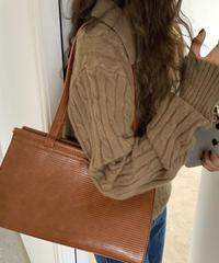 《予約販売》modern square 2way bag (2color)