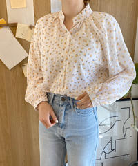 《予約販売》flower pattern blouse
