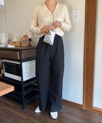 《予約販売》pin tuck slacks pants