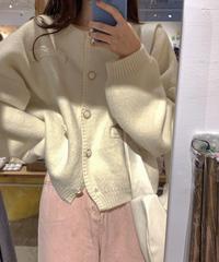 《予約販売》yodel button wool cardigan