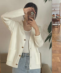 【予約販売】however knit jacket