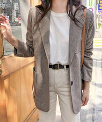 《予約販売》 herringbone jacket