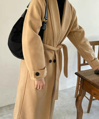 《即納》double long coat(2color)
