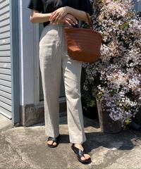 《予約販売》linen blend wide pants
