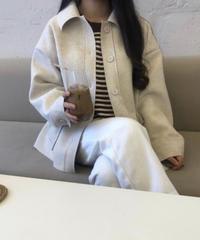 《予約販売》loose fit wool jacket