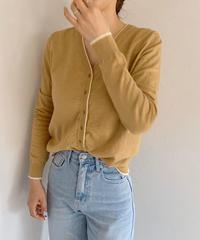 《予約販売》line knit cardigan
