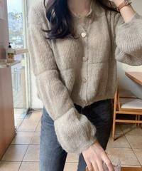 《予約販売》mohair hazel cardigan (2color)