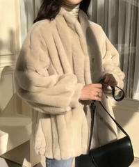 《予約販売》mink fur jacket