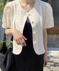 【予約販売】bia linen jacket (3color)