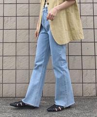 《予約販売》full length wide denim pants