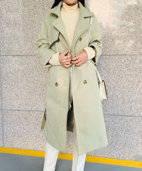 《予約販売》wool blend long coat