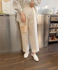 《予約販売》cotton chino pants