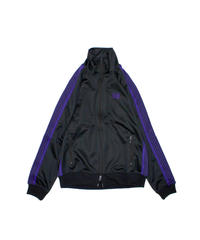 Needles:TRACK JACKET  POLY SMOOTH - CHARCOAL