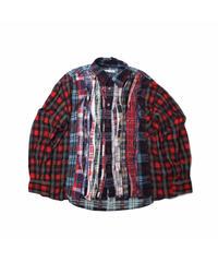 Rebuild by Needles:Ribbon Flannel Shirt - onesize #11