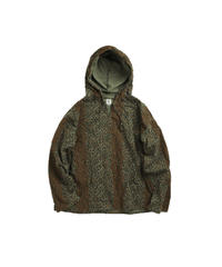 South2 West8:MEXICAN PARKA  PRINTED FLANNEL  CAMOUFLAGE - LEOPARD