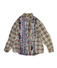 Rebuild by Needles Ribbon Flannel Shirt  - S size #15