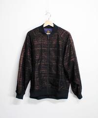 Needles:S.L.Rib Collar Jacket - Lame Cloth Jq
