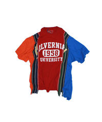 Rebuild by Needles:7 Cuts S/S Tee College - XL size #36
