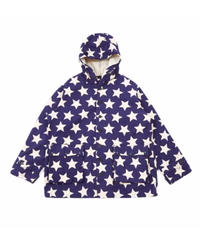 ※SALE 対象品  AiE - Krazy Parka  Star Print (Natural/Navy)